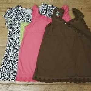 3 girl's tops, very good condition, size 6/6x